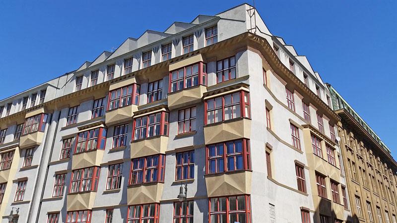 bilkova cubism apartment in prague