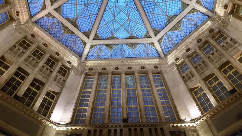 prague koruna palace glass ceiling